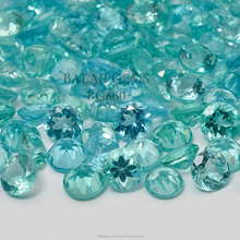 Wholesale Price Natural Apatite Round Shape 2.5 mm to 5mm Lot Loose Gemstone