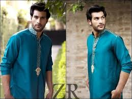 Decency Cream Jacquard Mens Churidar Suit/ Latest Kurta Designs For Men/ Kurta Pyjamas