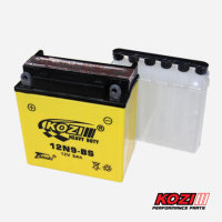 Heavy Duty 7 Lead Plates Motorcycle Dry Cell Battery