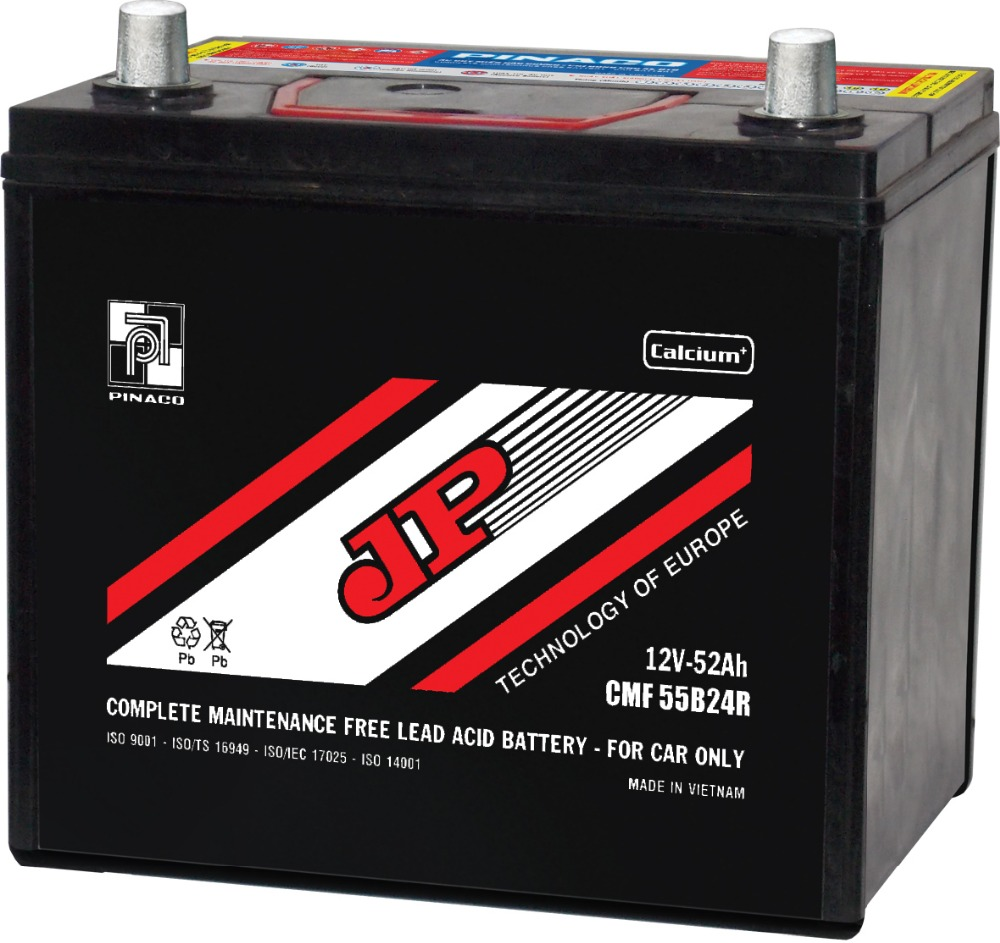 CMF 55B24 (12V - 52Ah) Maintenance Free Battery