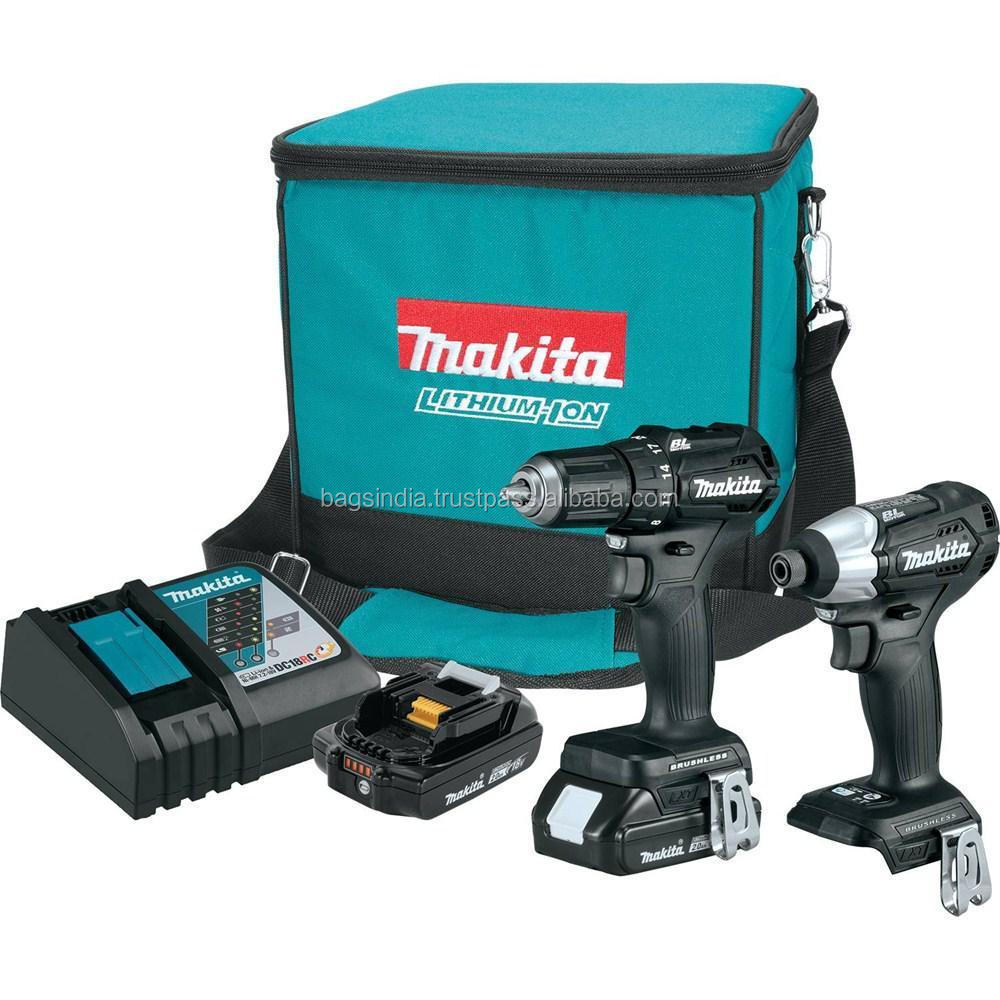 New Makita 18V LXT Lithium-Ion Sub-Compact Brushless 2 Pc. Combo Kit CX200RB