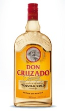 Don Cruzado tequila gold