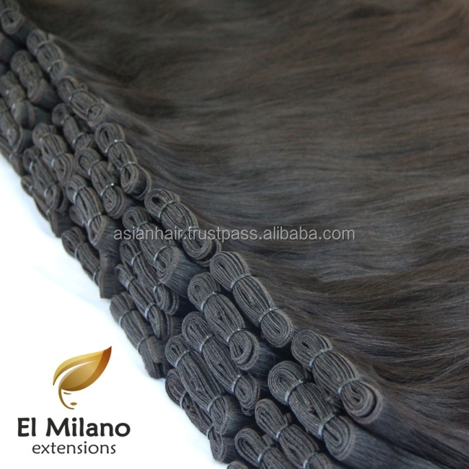 Premium Quality East European Hair, Wholesale Price Sewn Human Hair Extensions, Real Cuticle Aligned Hair