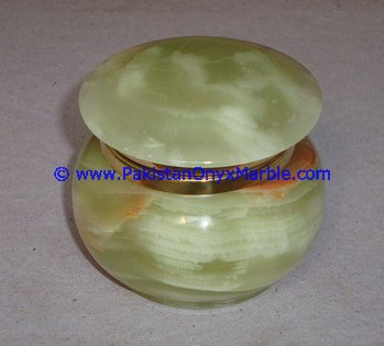 Natural Stone Green Onyx - Jewelry/Trinket Box