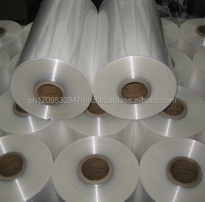 quality pe plastic stretch shrink film roll for wholesaler