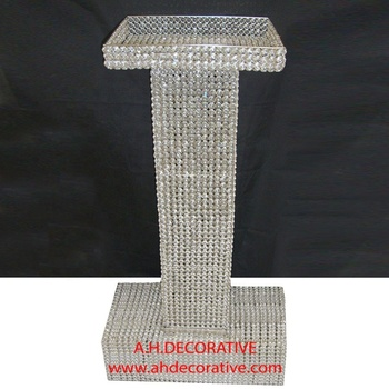 Crystal Podium, Crystal Beads Podium