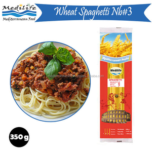 Spaghetti Pasta Nb#3, Dry and Fresh Long Pasta, Long Wheat Pasta with FDA Bag 350g.