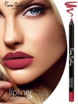 PIERRE CARDIN PARIS OEM New Serie Red Diva Long Lasting Waterproof Lipliner Pencil
