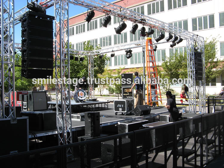 What price finished the stage portable stage truss canopy