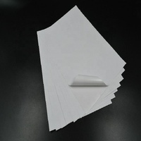 Preuim Grade excellent A4 Self Adhesive White Woodfree sticker paper