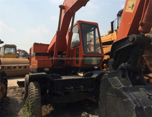Hitachi WH03 used Wheel excavator for sale / used wheel excavator EX100 EX130 EX200 EX160 ZX130