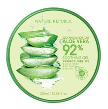 [NATURE REPUBLIC] Soothing & Moisture Aloe Vera 92% Gel 100% Original from South Korea Nature Republic Headquarters
