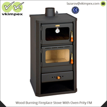 Wood Burning Fireplace Stove With Oven Prity FM