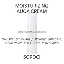 [SOROCI] AQUA CREAM / Organic cosmetics / Facial / Korean brand / Natural cosmetics