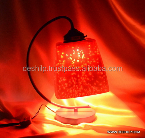 GLASS TABLE LAMP BASE,MODERN LAMP,ANTIQUE TABLE LAMP