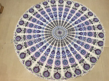 Mandala Beach Towel