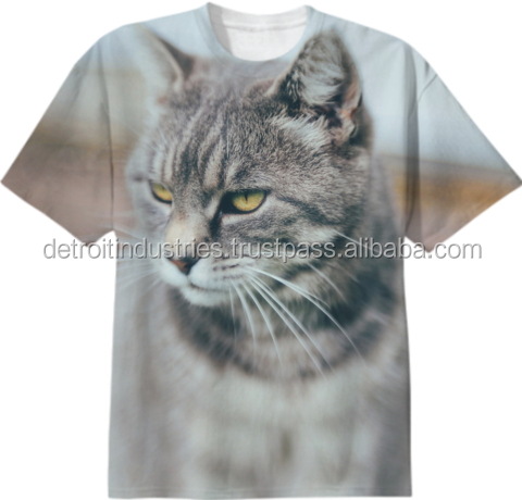 Custom design 100% polyester sublimation t shirt