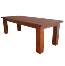 Wood Furniture Furniture - Dining Room Furniture Indoor Teak Table Solid Wood