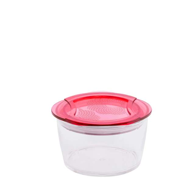 370ml 100% Tritan Circle food container food grade lunch box - Dai Dong Tien 's products