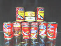 Canned Sardine Fish/ Canned Mackerel/Canned Sardine Tuna Fish in Vegetable Oil