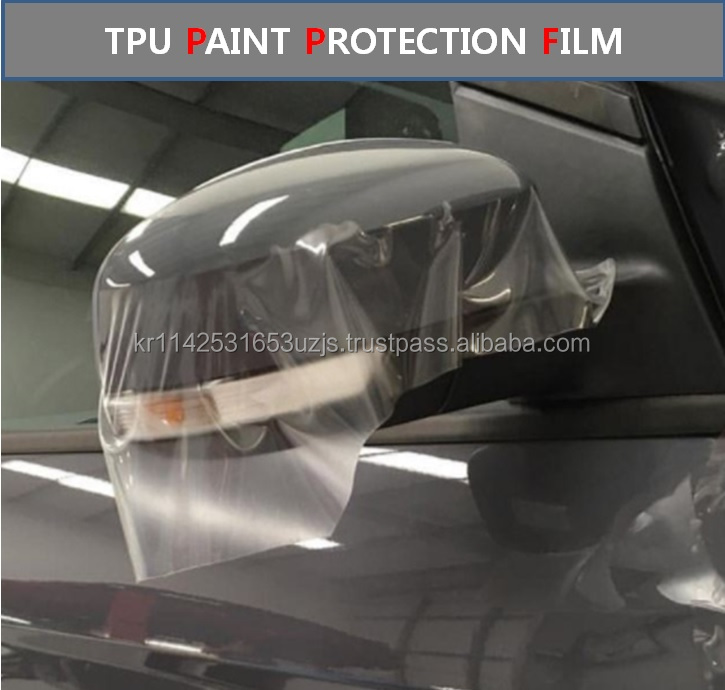 KOREA AUTO PROTECTIVE TPU PPF FILM CAR PAINT PROTECTION FILM WITH TRANSPARENT TPU CAR AUTOMATIVE PPF WRAPPING VYNIL FILM