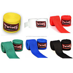 New MMA Twins Special Solid Muay Thai Kick Boxing Protectors Hand Wraps