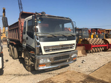 Left-Hand-Drive 4*8 Japan 20 ton used Isuzu QK81Z Tipper Dump Truck 20 cubic meters dump truck for sale