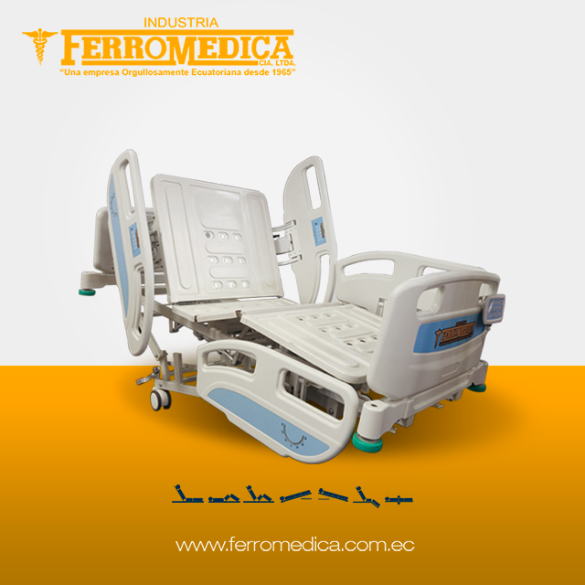 5 Movements Electric Medical Hospital Bed