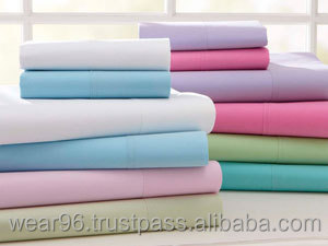 180 Thread Count 75/25 Cotton Rich Hotel Hospital Sheets