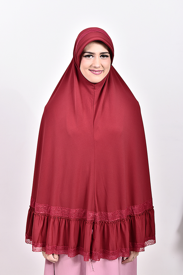 High Quality Women Fashion Muslim Hijab - Red Zidna
