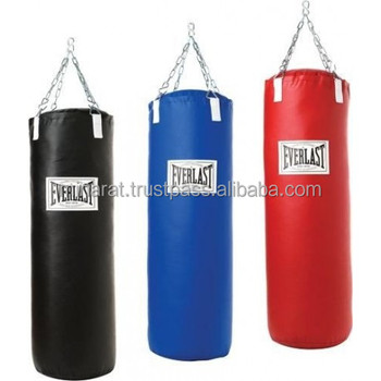 3 Color Filled or unfilled Heavy Punch Bag Chain Punchbag Kickbag kick boxing MMA Training