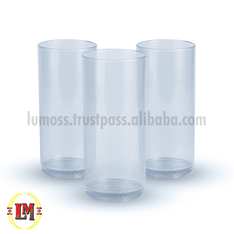 Clear Highball Drinking Glass/Tumbler - 240ml