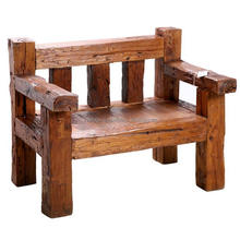 Old Teak Furniture Hand Made Small Wood chair