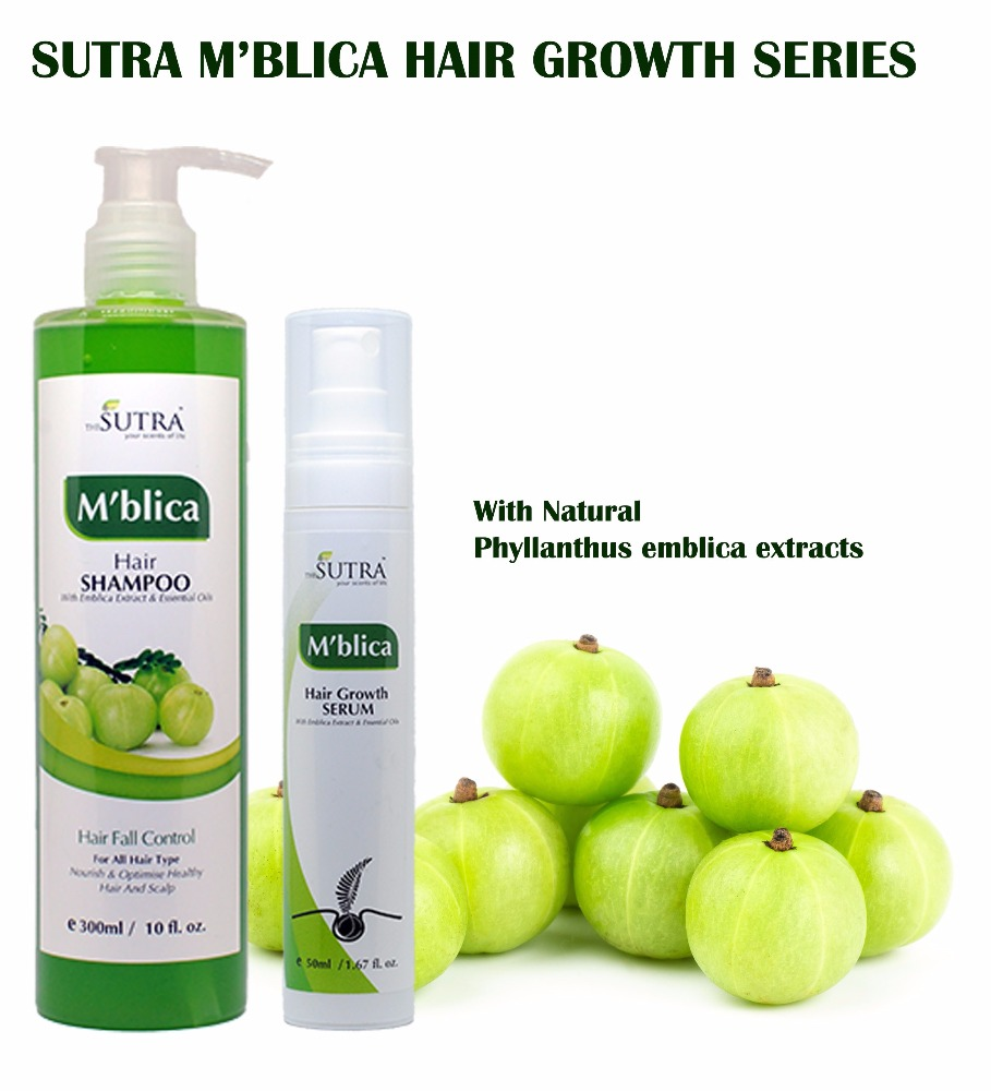 M'BLICA HAIR GROWTH SERIES SET (HAIR SHAMPOO AND SERUM)