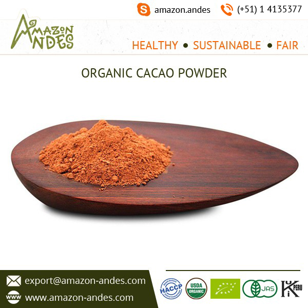 Cacao powder Thebroma Cacao L criollo variety organic from Peru