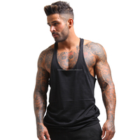 Men Clothing Sleeveless Fitness Sportwear Gym