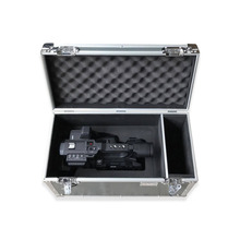 2017 Professional aluminium flight case for Panasonic AG-UX180, Video camera case