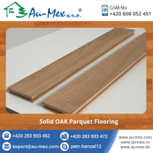 Real Estate Construction Wood Flooring/Solid OAK Parquet Wood Floor