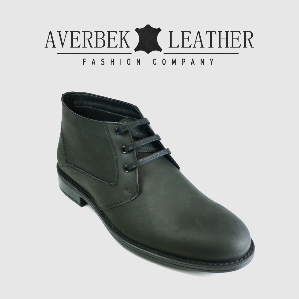 New Genuine Leather Chukka Boots For Men, Turkey Wholesale Mens Shoes Supplier