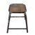 Vintage Industrial Stack-able Stool, Metal Frame Wood Seat, Indian Furniture Manufacturer