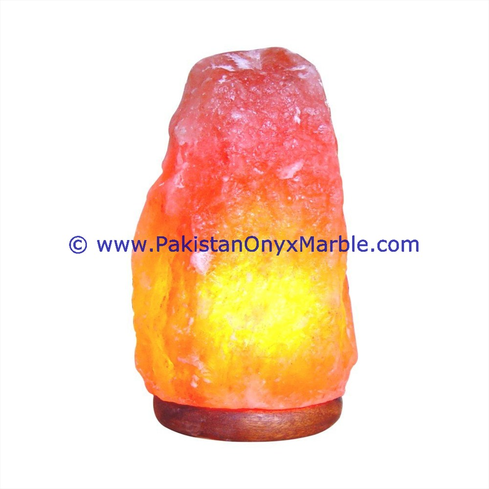 HIMALAYAN CRYSTAL NATURAL SALT LAMP 25-50 KG.