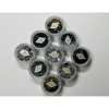 Rhinestone In Wheel Case For Nail Art