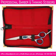 Customized Barber Thinning Scissors Set Made with Japanese Stainless Steel 440C / Professional Hair Cutting Scissors