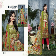 machine embroidery of dress line salwar suits kameez full sleeves