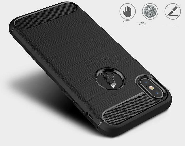 Newest Mobile Phone Case with New Carbon Fiber Line TPU PC Back Cover
