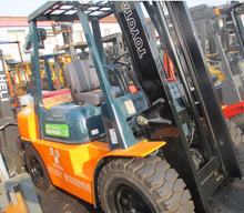 used best price Japan toyota carry-scraper/ fork lift truck/forklift truck special for warehouse 5t
