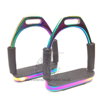 Flexi Stirrups Horse Riding Titanium Coating