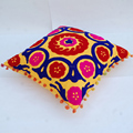 Outdoor pillow cases suzani embroidered wholesale cushion cover christmas decor