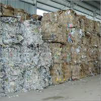 Waste News Paper Scraps Corrugated Carton