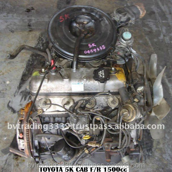 USED DIESEL ENGINES AND GEARBOX TOY 5K - CS 5SP CARB